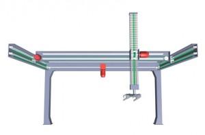 Breco 3-akset lineardrift